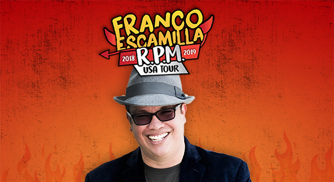 Franco Escamilla at The Plaza Theatre Performing Arts Center