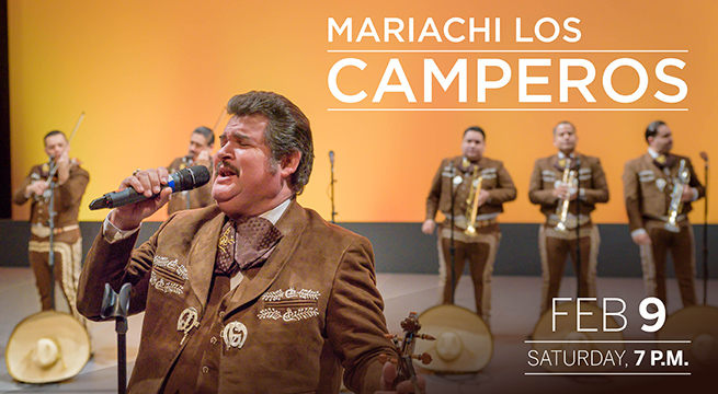Mariachi Los Camperos at The Plaza Theatre Performing Arts Center