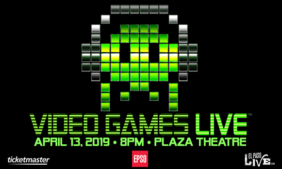El Paso Symphony Orchestra: Video Games Live at The Plaza Theatre Performing Arts Center