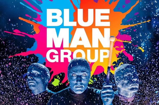Blue Man Group at The Plaza Theatre Performing Arts Center