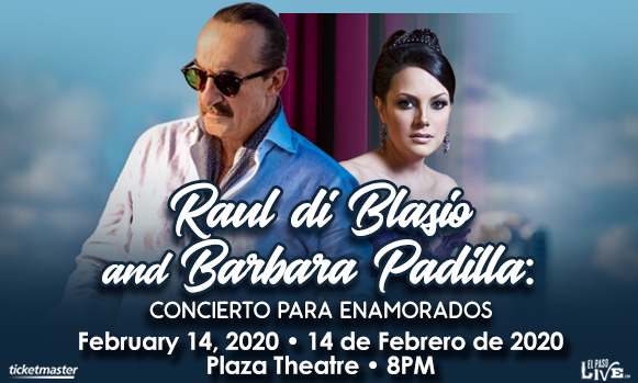 Raul Di Blasio & Barbara Padilla at The Plaza Theatre Performing Arts Center