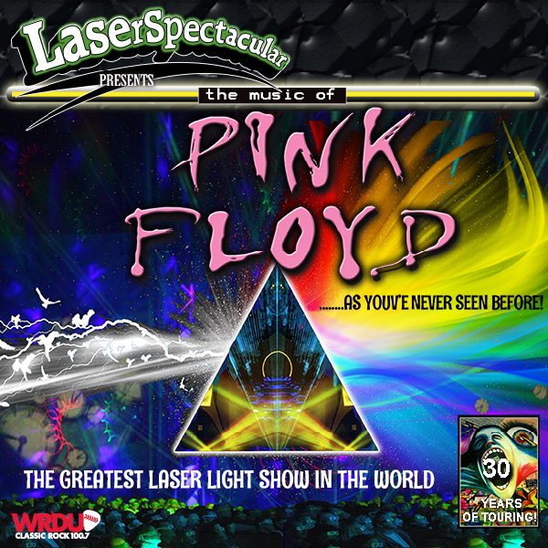 Pink Floyd Laser Spectacular [POSTPONED] at The Plaza Theatre Performing Arts Center