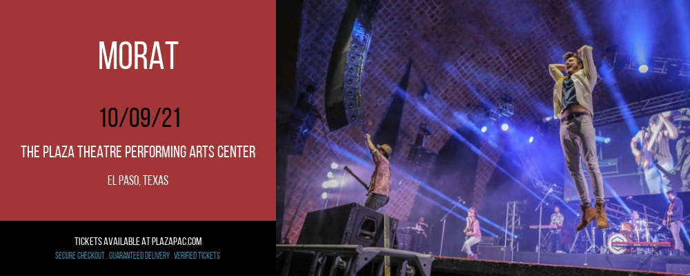 Morat at The Plaza Theatre Performing Arts Center