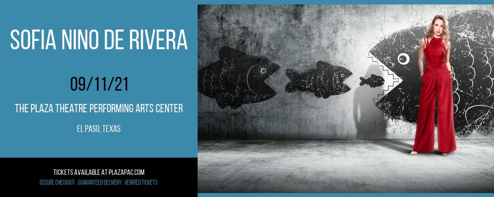 Sofia Nino de Rivera at The Plaza Theatre Performing Arts Center