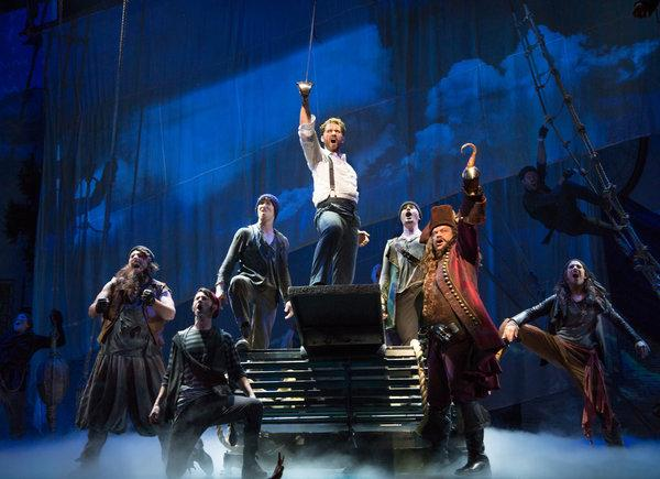 Finding Neverland at The Plaza Theatre Performing Arts Center