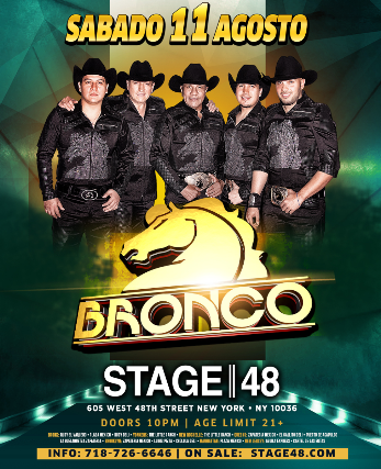 Bronco at The Plaza Theatre Performing Arts Center
