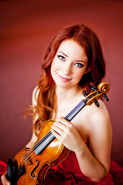 El Paso Symphony Orchestra: Bohuslav Rattay & Chloe Trevor - Fire and Blood at The Plaza Theatre Performing Arts Center