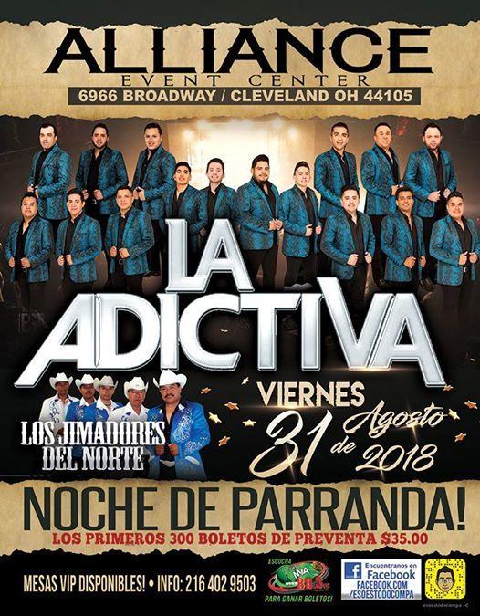 La Adictiva at The Plaza Theatre Performing Arts Center