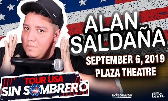 Alan Saldana at The Plaza Theatre Performing Arts Center