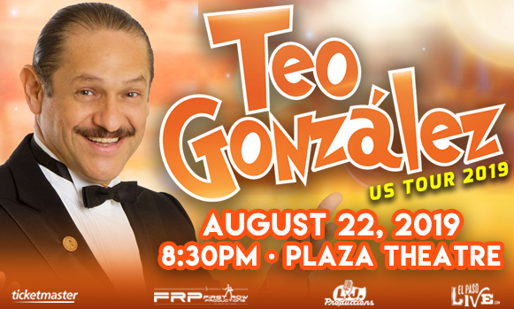 Teo Gonzalez at The Plaza Theatre Performing Arts Center