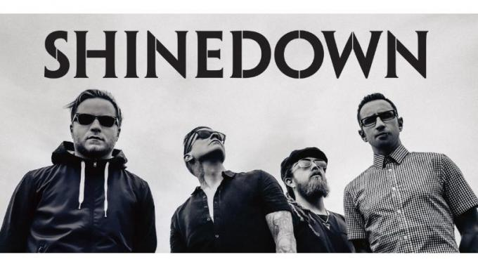 Shinedown at The Plaza Theatre Performing Arts Center