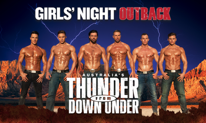 Thunder From Down Under at The Plaza Theatre Performing Arts Center
