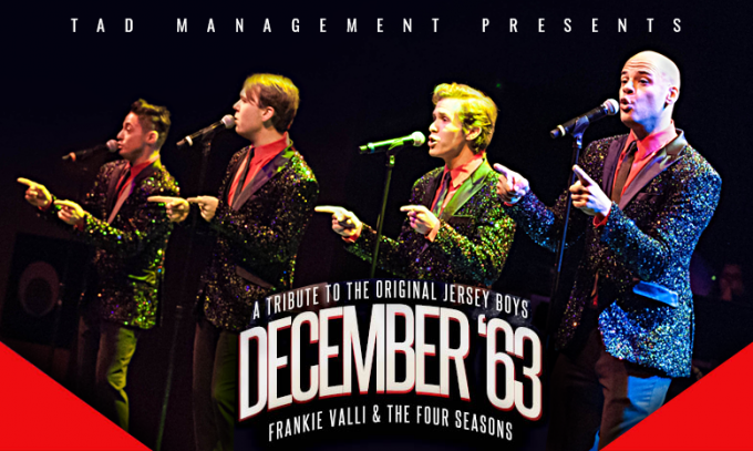 December '63 at The Plaza Theatre Performing Arts Center