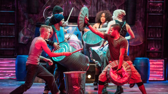 Stomp at The Plaza Theatre Performing Arts Center